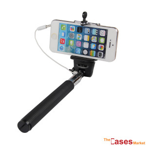 cabo extensivel selfie stick para smartphone