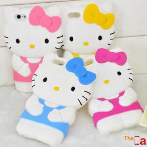 Capa Hello Kitty 3D para iPhone 6
