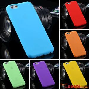 Capa silicone para iPhone 6 4.7'' várias cores