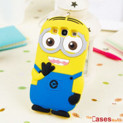 Capa Minions 3D Samsung S3 i9300
