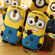 Fashional-new-arrival-cute-cartoon-model-silicon-material-Despicable-Me-Yellow-Minion-Case-for-Samsung-Samsung