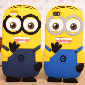 Capa Minions 3D silicone Huawei