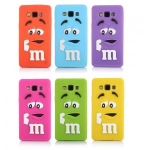 Capa silicone M&M Samsung