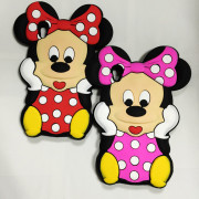 Capa Minnie Mouse 3D silicone Sony Xperia