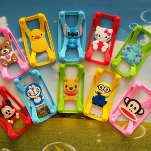 New-Universal-4-0-5-8-polegada-Screen-Silicone-Bumper-quadro-3D-dos-desenhos-animados-Minnie (12)