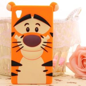 capa silicone tigre xperia Z