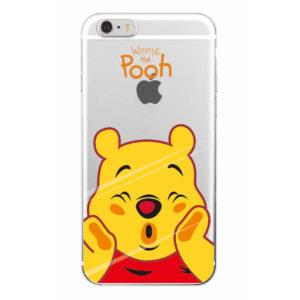 capa winnie the pooh transparente iphone