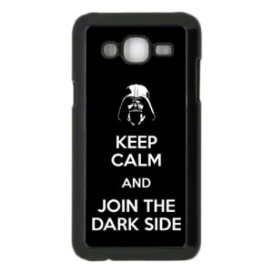 capa Keep Calm and Join the Dark Side samsung