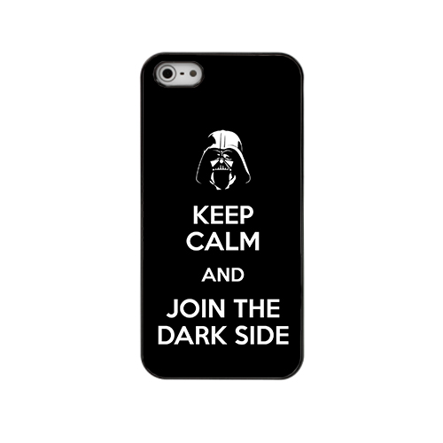capa Keep Calm and Join the Dark Side iphone
