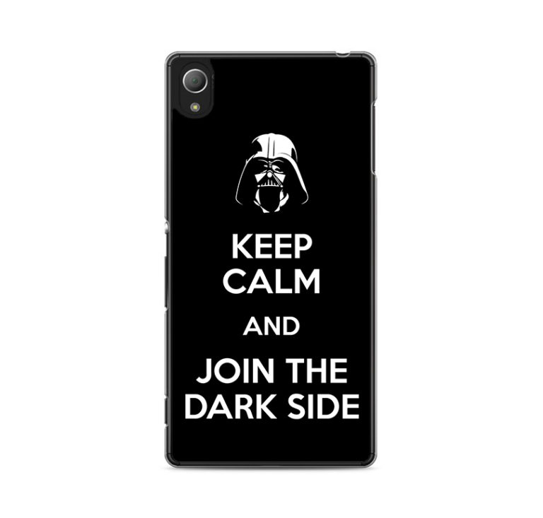capa Keep Calm and Join the Dark Side Xperia