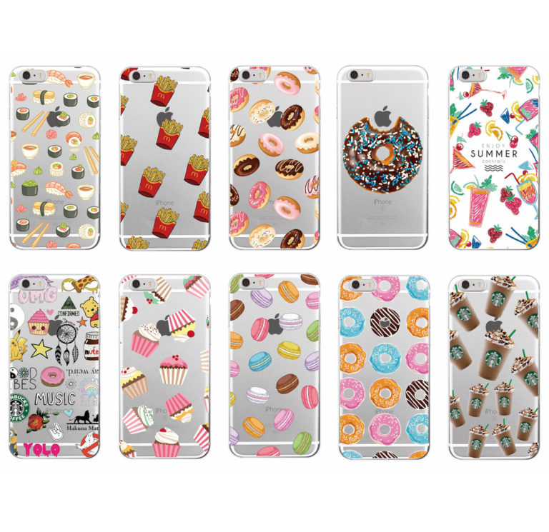 capa silicone alimentos iphone