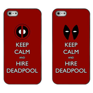 capa Keep Calm and Hire Deadpool iphone