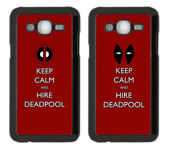 capa Keep Calm and Hire Deadpool samsung