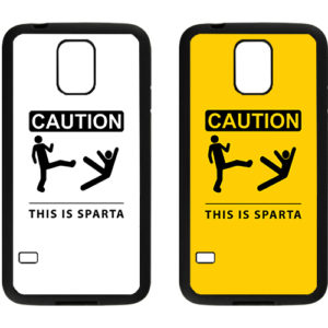 capa caution this is sparta samsung