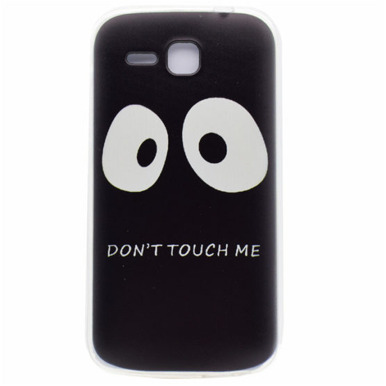 Capa silicone dont touch my phone huawei y600