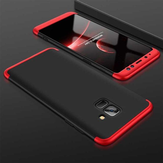 Capa fina elegante plástico Samsung A8 2018 - The Cases Market