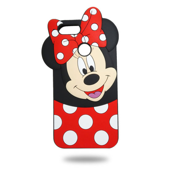 capa minnie mouse silicone huawei p smart