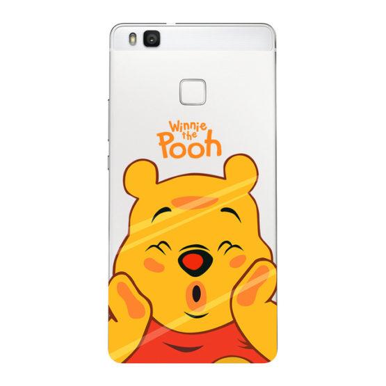 capa transparente winnie the pooh huawei p smart