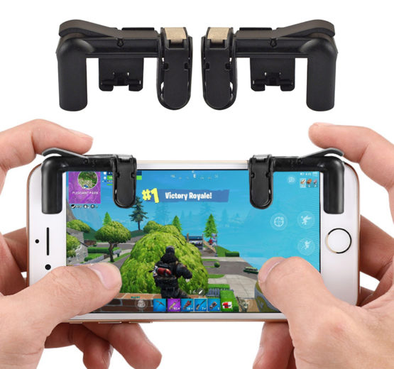 gatilhos comando telemovel fortnite mobile pubg fps