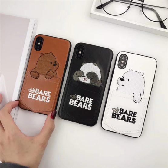 capa bar bears bolso iphone