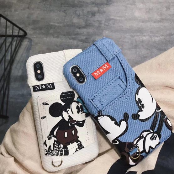 capa ganga mickey iphone