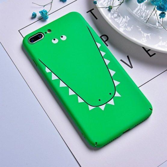 capa plastico crocodilo verde iphone