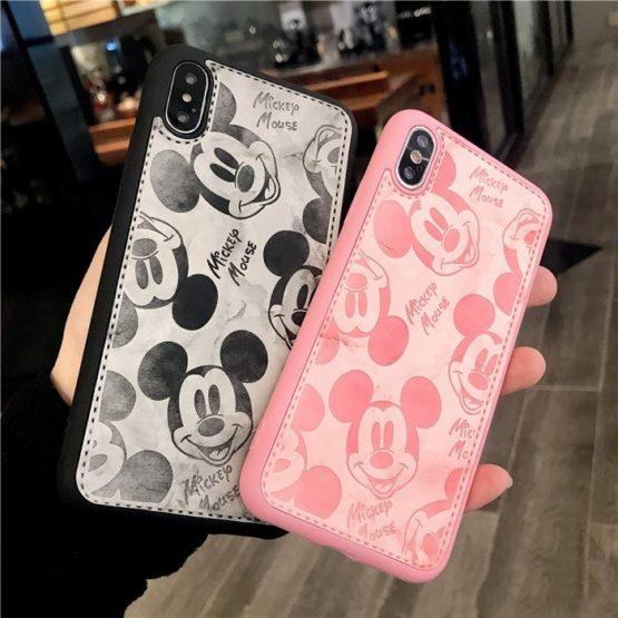capa plastico pele mickey iphone