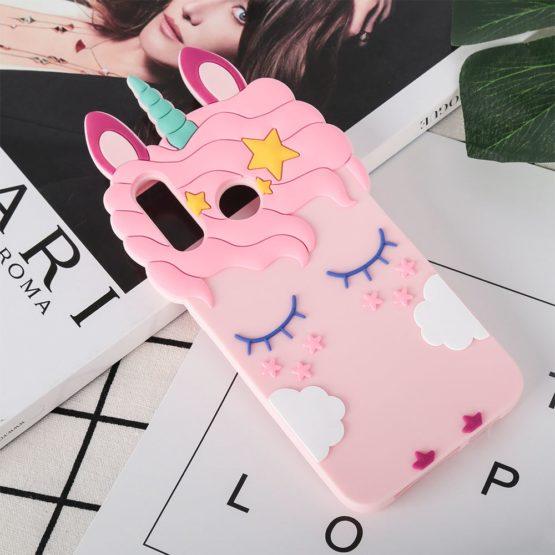 capa unicornio 3d silicone huawei p20 lite
