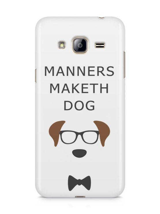 capa manners maket dog samsung j3 2016