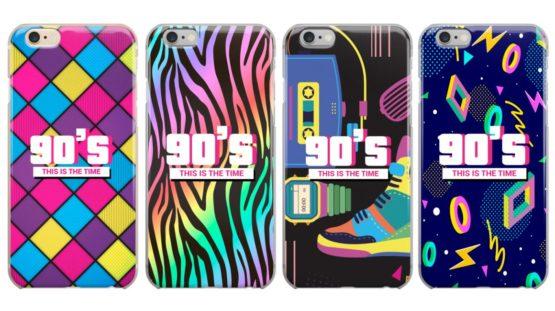 capas anos 90 iphone