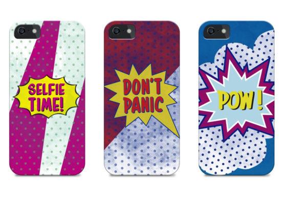 capas pop art silicone iphone