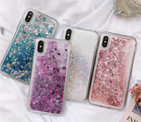 capa silicone brilhantes liquido iphone (5)