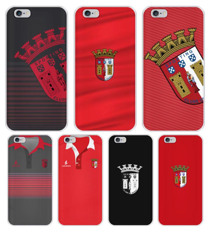 capas oficiais sporting braga iPhone