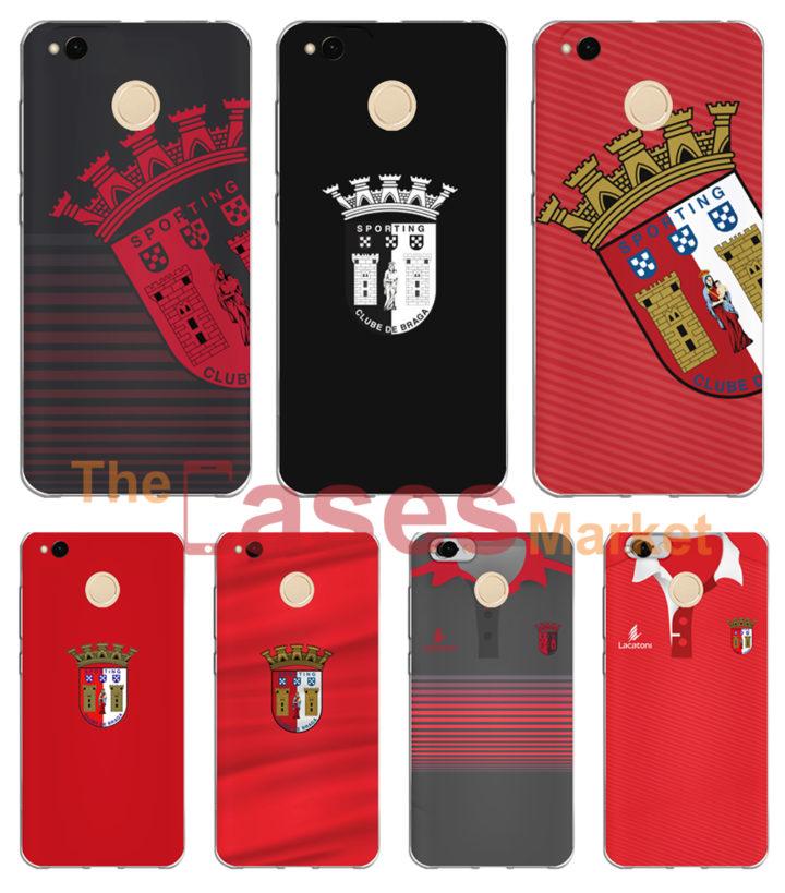 capas oficiais sporting braga telemoveis Xiaomi