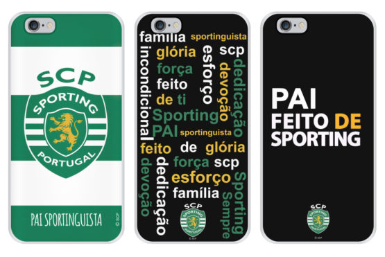 capas sporting dia do pai iPhone