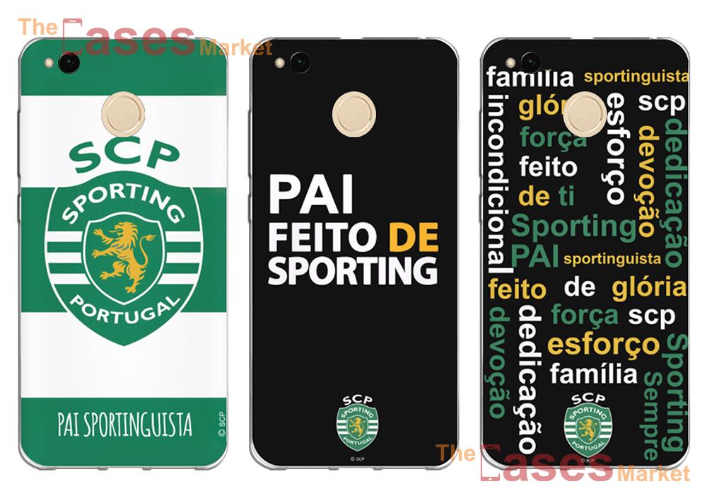 capas sporting dia do pai telemóveis xiaomi