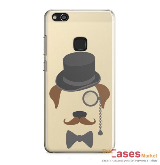 capa huawei gentleman dog