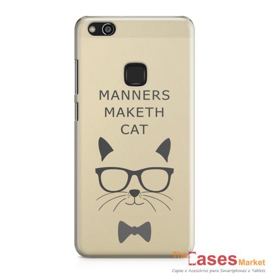 capa telemovel huawei manners maketh cat