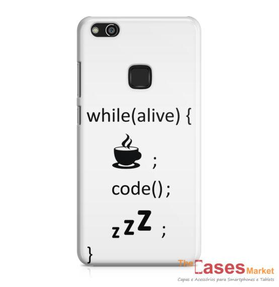 capa telemovel huawei while alive code