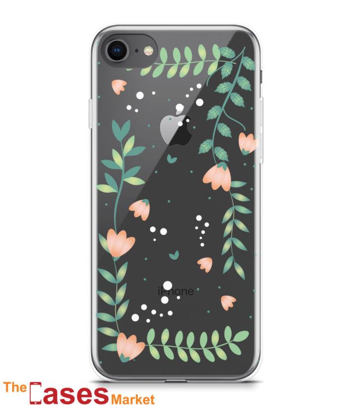 capa silicone transparente iphone primavera 4