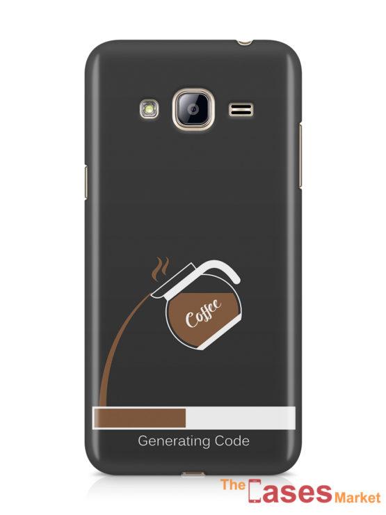 capa telemoveis samsung turn coffee into code