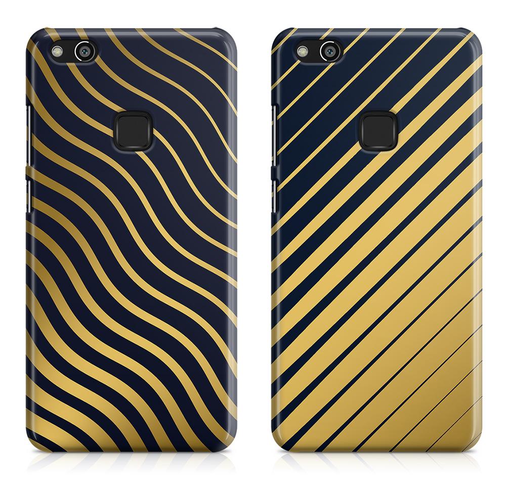 capa telemovel huawei linhas douradas abstractas