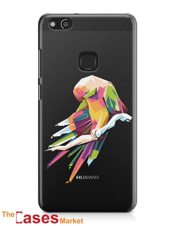 capa transparente telemovel huawei papagaio