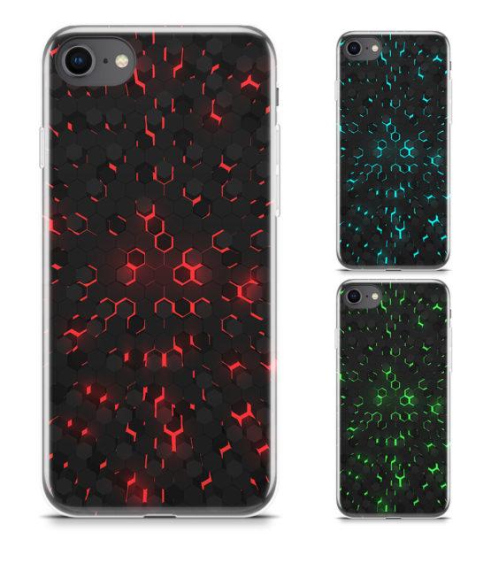 capas iphone tech abstracto