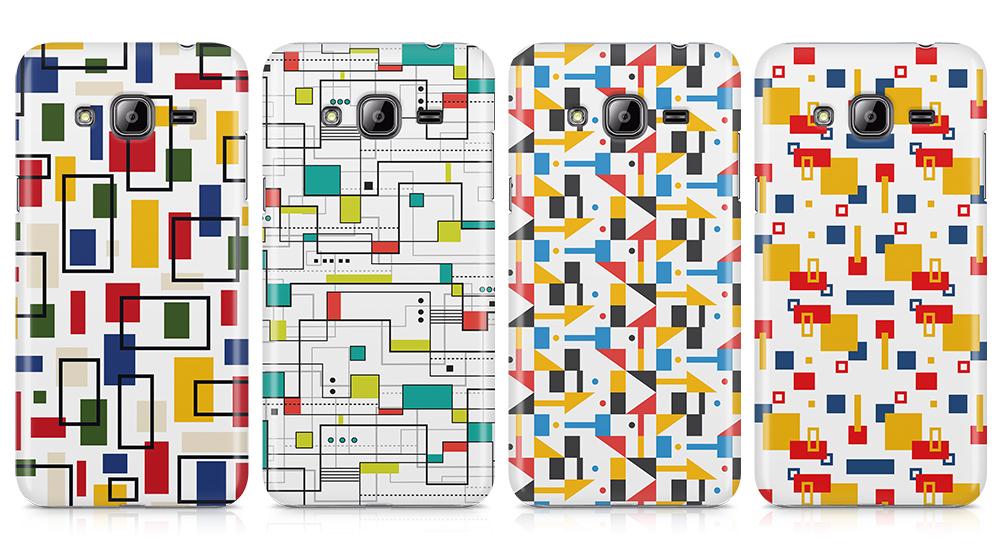 capas silicone estilo bauhaus samsung j3 2016
