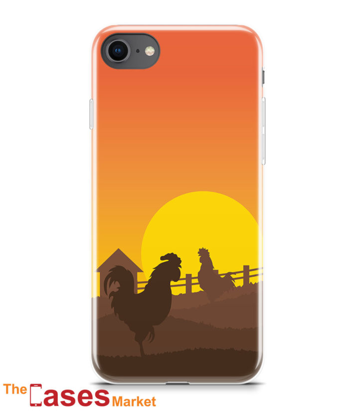 capa iPhone galinhas animais 4