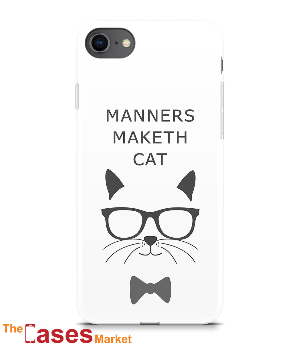 capa iPhone manners maketh cat pet 10