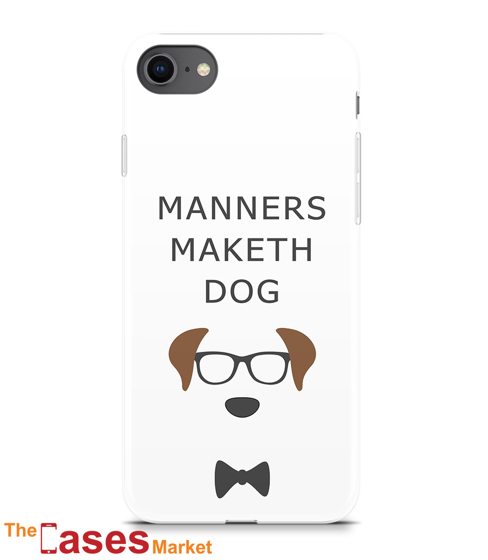 capa iPhone manners maketh dog pet 1