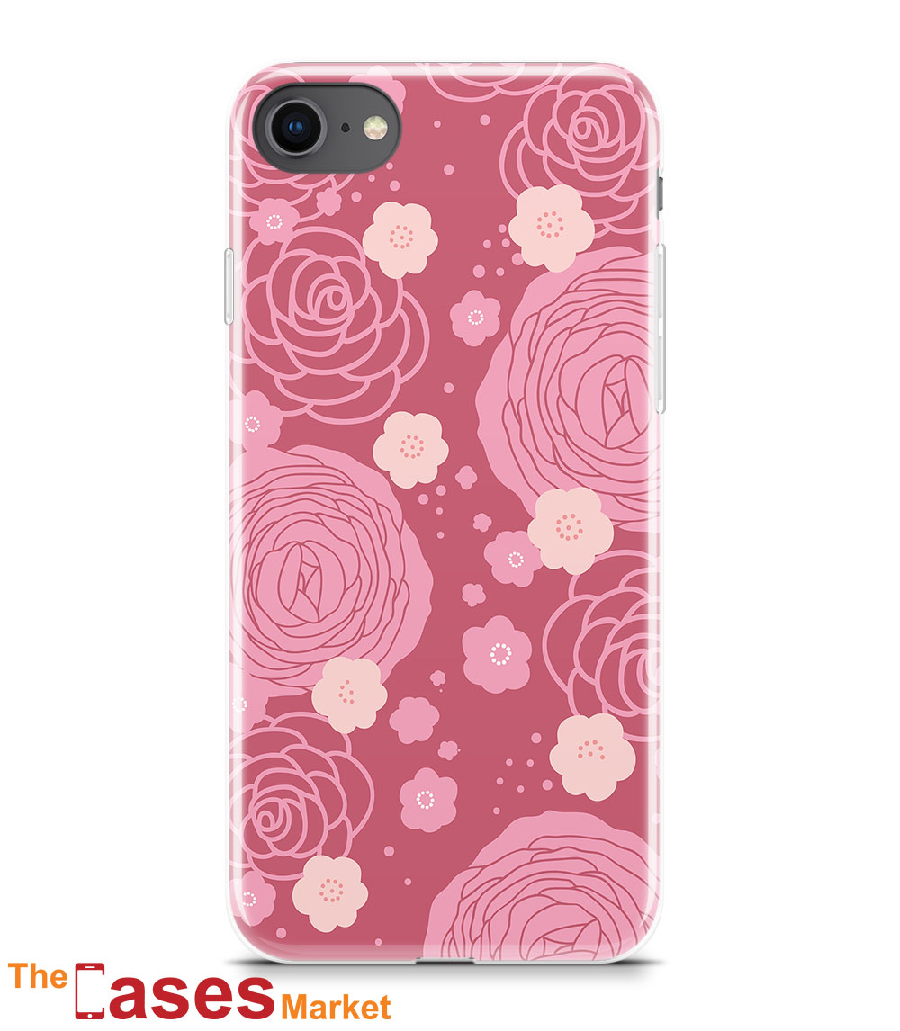 capa iphone flores 6