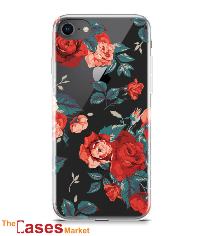 capa iphone rosas flores 5